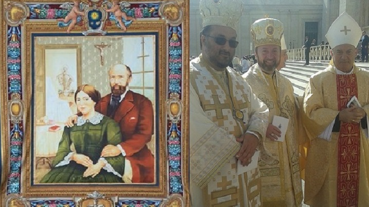 FOTO: Participare românească la canonizarea Sfinţilor Ludovic Martin și Maria Zelia Guérin