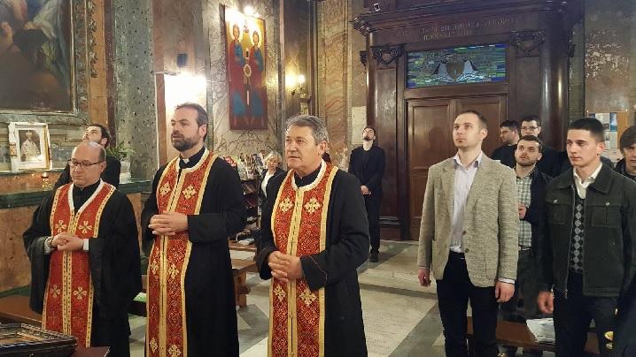 FOTO: Slujbă de pomenire a Arhiereului Ioan Inocenţiu Micu Klein, la Roma