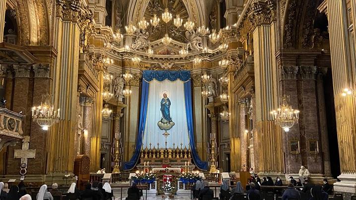 Celebrare solemnă în Bazilica Sfinţilor Apostoli – Roma