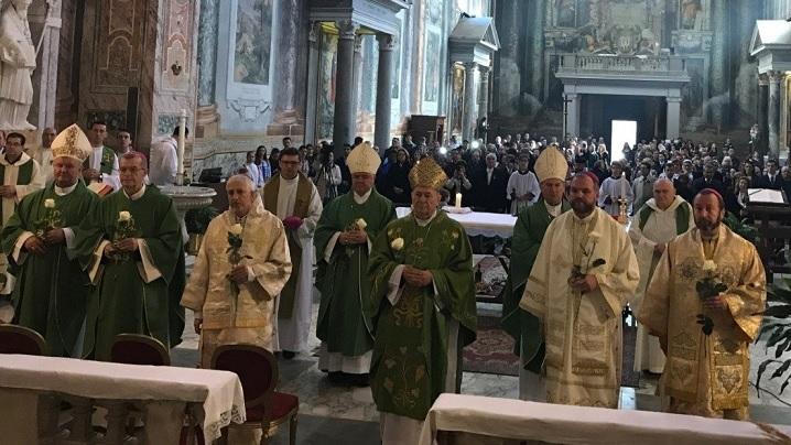 La mulți ani, România! Episcopii catolici din România au marcat la Roma Centenarul Marii Uniri