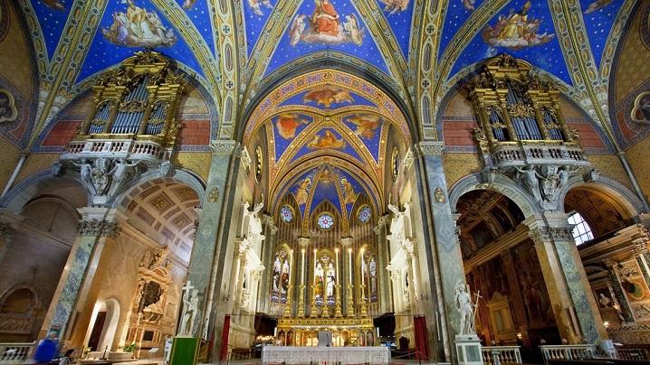 FOTO: Zece biserici spectaculoase (dar mai puțin cunoscute) de vizitat la Roma