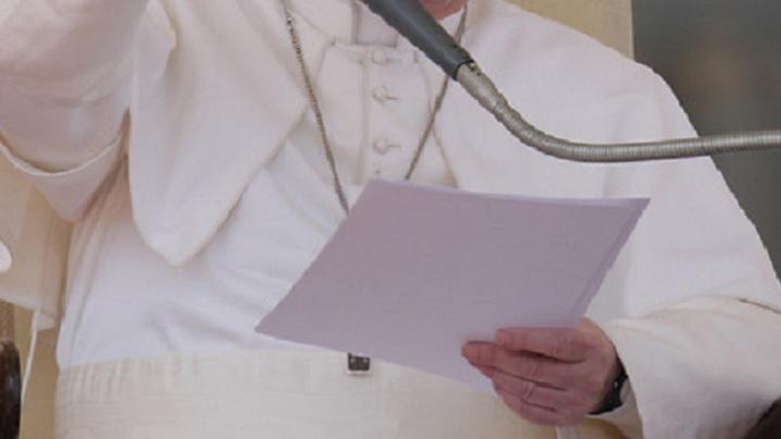 Un musulman i-a scris Papei