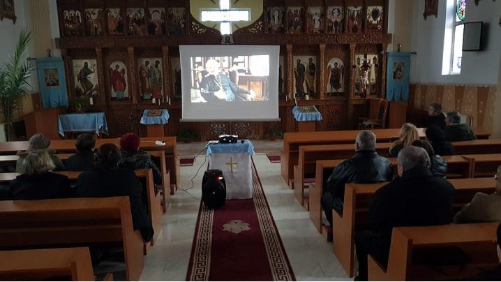 Seară de rugăciune în parohia Sebeș