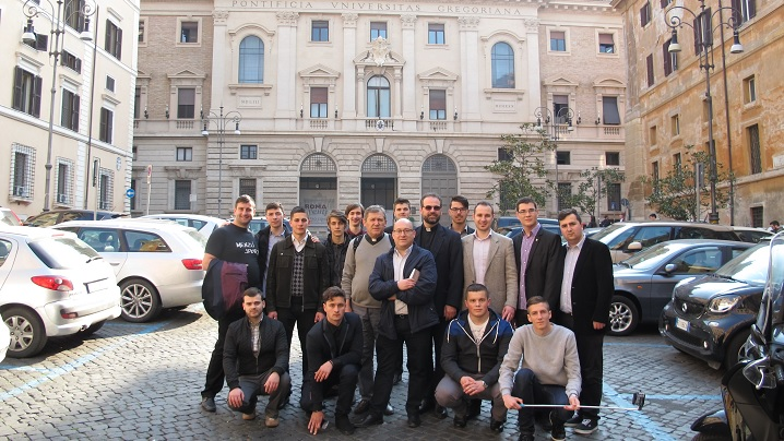 Foto: Vizita seminariștilor din Blaj la Universitățile Pontificale din Roma