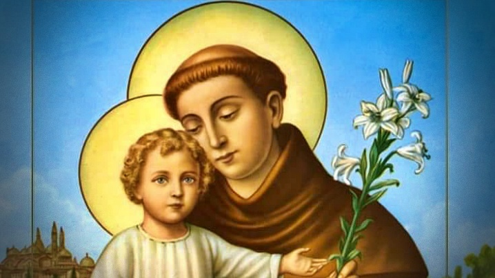 De ce Sfântul Anton de Padova este reprezentat cu un crin în mână?