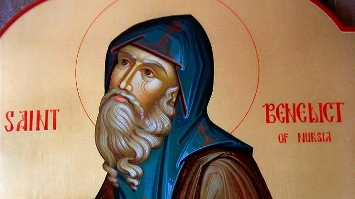 Sfântul Benedict, patronul Europei