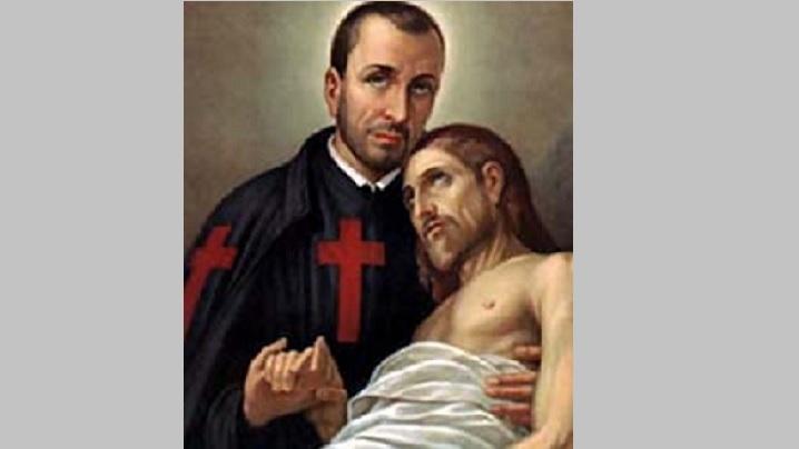 Sfântul Camil de Lellis (1555-1614)