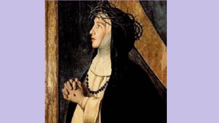 Sfânta Ecaterina din Siena - patroană a Europei