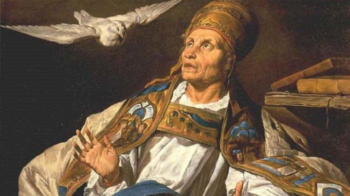 Sfântul Grigore Dialogul şi Liturghia Darurilor mai înainte sfinţite