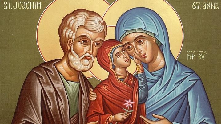 SFINŢII IOACHIM ŞI ANA, părinţii sfintei Fecioare Maria