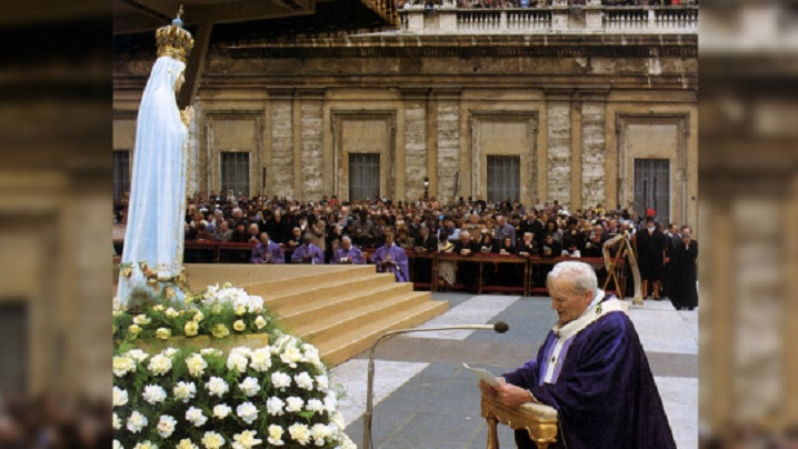 Rugăciunea de eliberare a Sfântului Ioan Paul al II-lea
