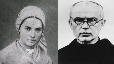 Pe 7 ianuarie s-au născut: Sf. Bernadette Soubirous și Sf. Maximilian Kolbe