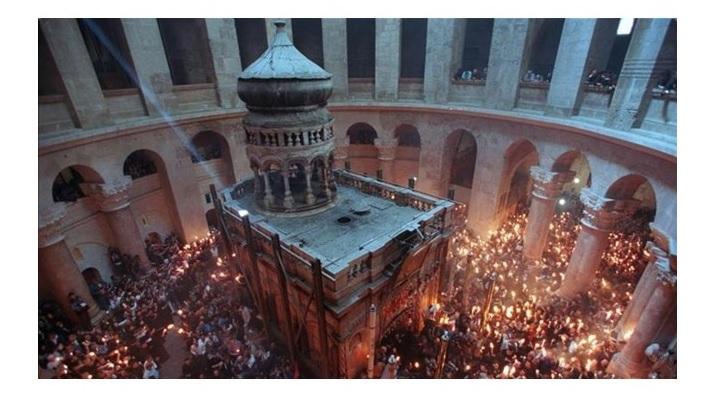 Au început lucrările de restaurare a Sfântului Mormânt