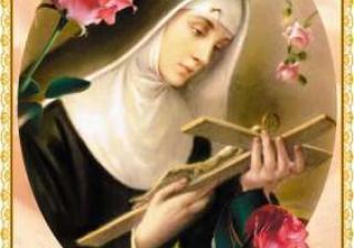 Viaţa Sfintei Rita din Cascia (1381 – 1457)
