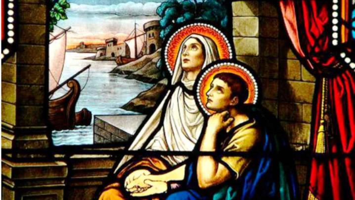 Sfânta Monica, mama sfântului Augustin (332-387)
