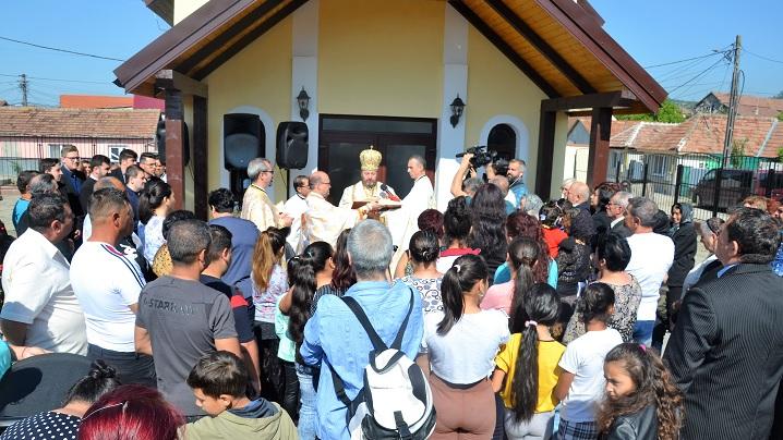 Sfințirea capelei din cartierul Barbu Lăutaru, Blaj