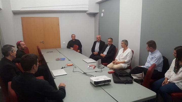 Mons. Viganò întâlnește reprezentanții asociației SIGNIS România