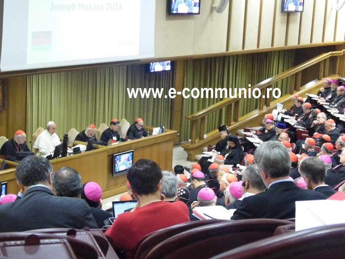 FOTO: PS Mihai Frăţilă şi IPS Ioan Robu la Sinodului Episcopilor