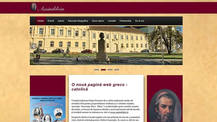 O nouă pagină web greco-catolică