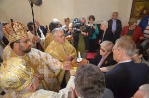 FOTO: Slujbă de pomenire, la centenarul nașterii, în memoria lui Corneliu Coposu