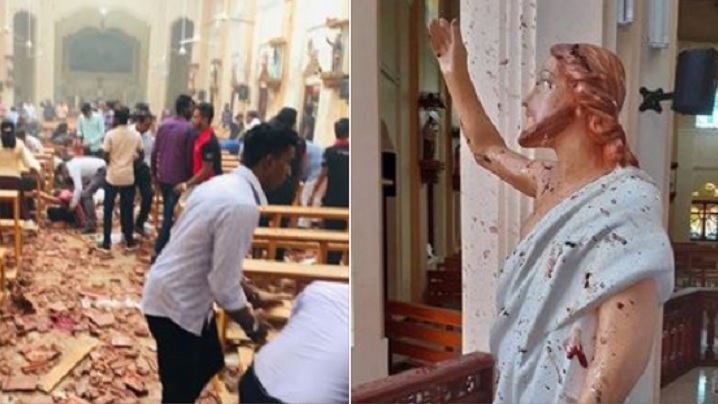 Mesajul Papei Francisc în urma atentatelor comise în Sri Lanka