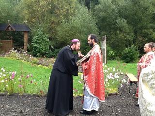 Hramul Schitului Stânceni, moment de rugăciune și comuniune