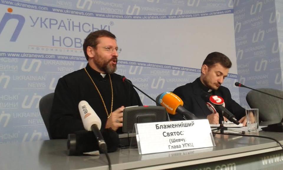 """Autoritățile de la Kiev amenință cu """"sistarea activității"""" Biserica Greco-Catolică din Ucraina"""
