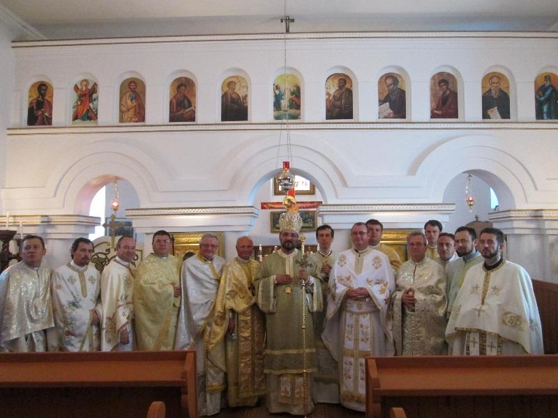 FOTO: Marea sărbătoare a creştinilor greco-catolici dinTârnăveni