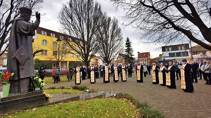 Evocarea Fericitului Iuliu Hossu, la Târgu Mureș