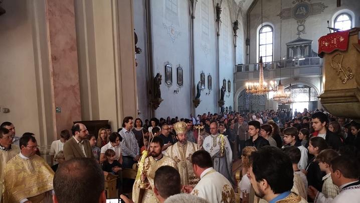 FOTO: Întâlnirea Arhieparhială a copiilor și tinerilor greco-catolici - Sibiu 2018