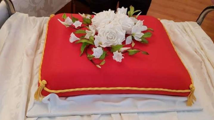 Un tort în memoria martirilor oferit Papei Francisc, la Blaj