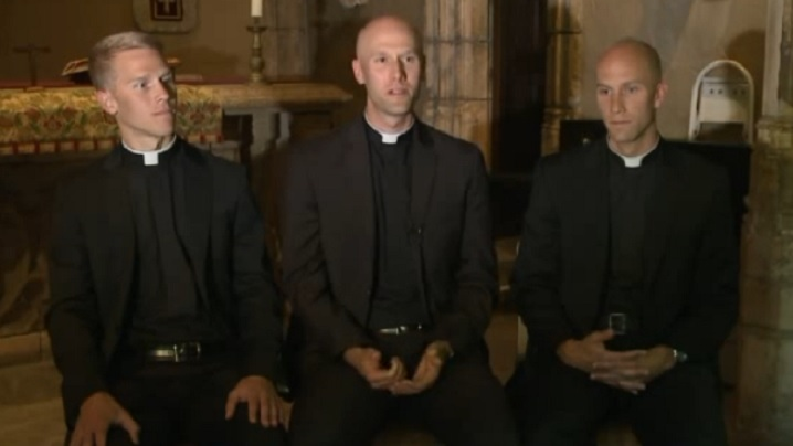 Trei frați, trei preoți...