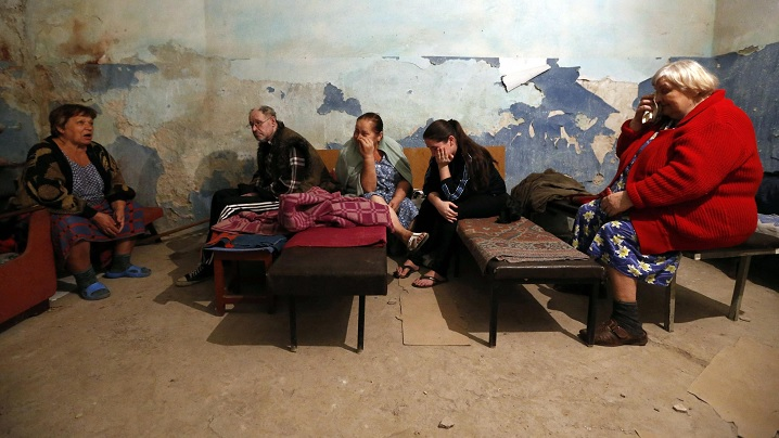 Apel la pace în Ucraina și colectă pentru populație