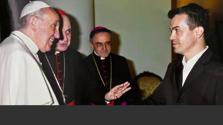 Un artist român la Vatican