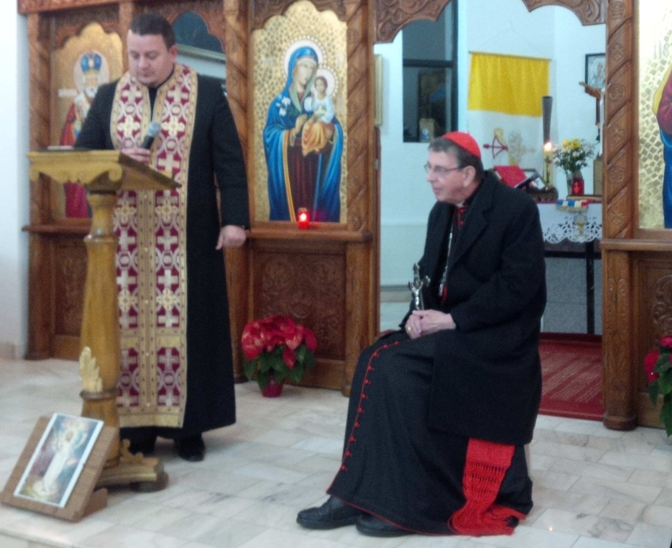 Vizita Cardinalului Kurt Koch la Ungheni (Mureș)