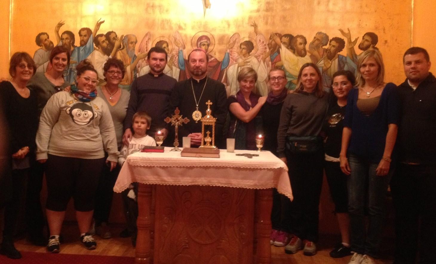 Un grup de studenți ai Universității Pontificale Saleziene din Roma au vizitat Transilvania