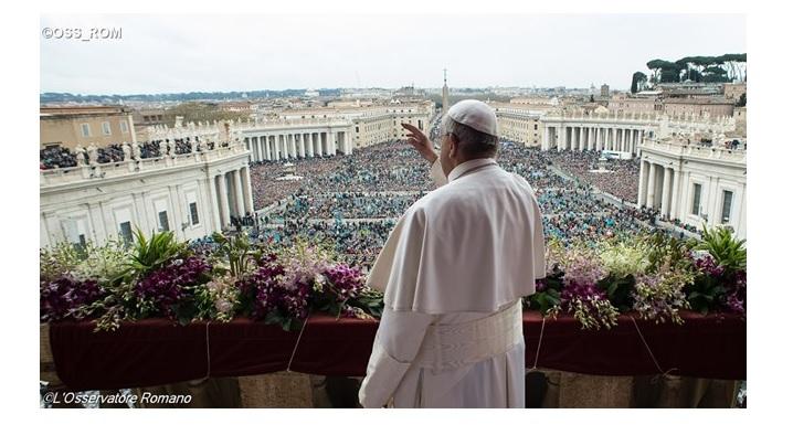 ANUNȚ: Urările pascale ale papei Francisc, în direct la TVR
