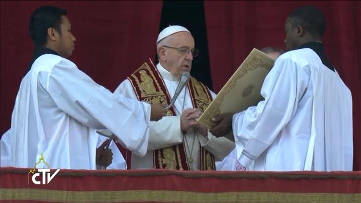 "Mesajul ""Urbi et Orbi"" de Crăciun 2016 al papei Francisc (text)"