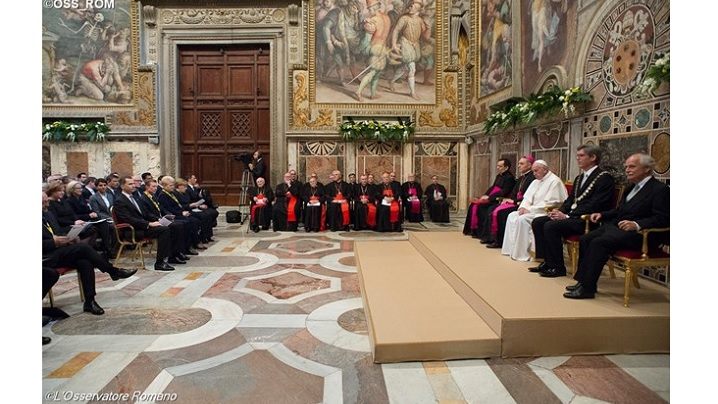 Șefii de stat ai țărilor UE, în audiență la papa Francisc în 24 martie 2017