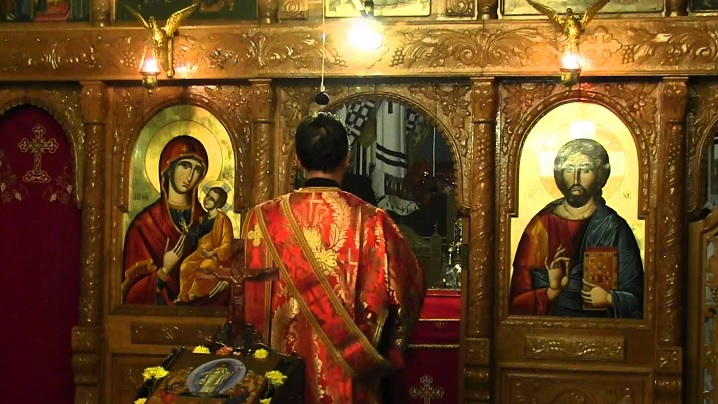 Vecernia Duminicii a 33-a după Rusalii (a Vameșului și a Fariseului), 21 februarie 2016