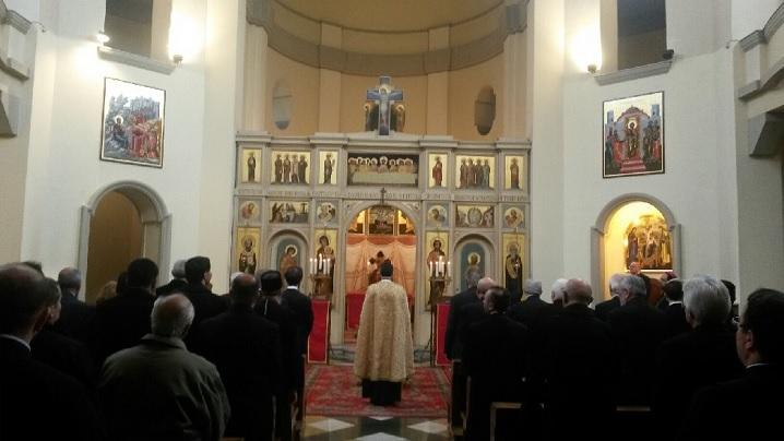 Vecernia și Utrenia Duminicii a treia a Paștilor