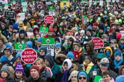 Washington: 10 mii de pelerini la veghea de rugăciune din ajunul Marşului pentru viaţă