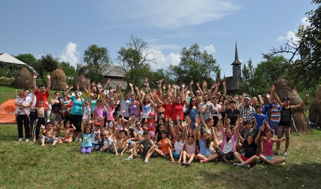 FOTO: ediţia a IX-a a taberei pentru părinţi şi copii la Vima Mică