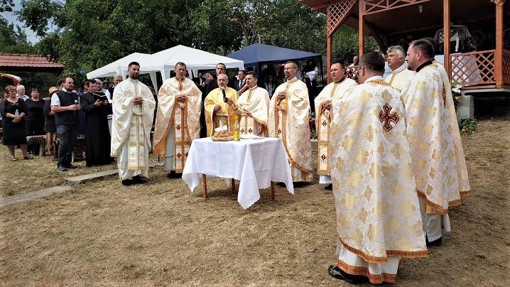 Foto: Sărbătoarea hramului în parohia Visuia