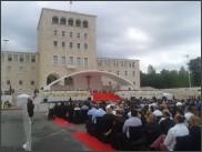 Călătoria apostolică a papei Francisc la Tirana (Albania)