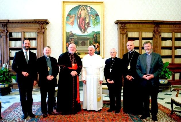 Papa Francisc a primit  în audienţă o delegaţie a Comisiei Conferinţelor Episcopilor din Comunitatea Europeană