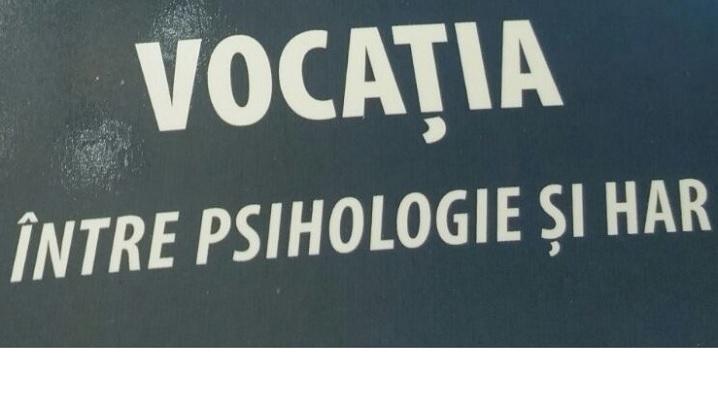 """Vocația, între psihologie și har"""" – o nouă apariție în colecția Caietele Pio Romeno"""