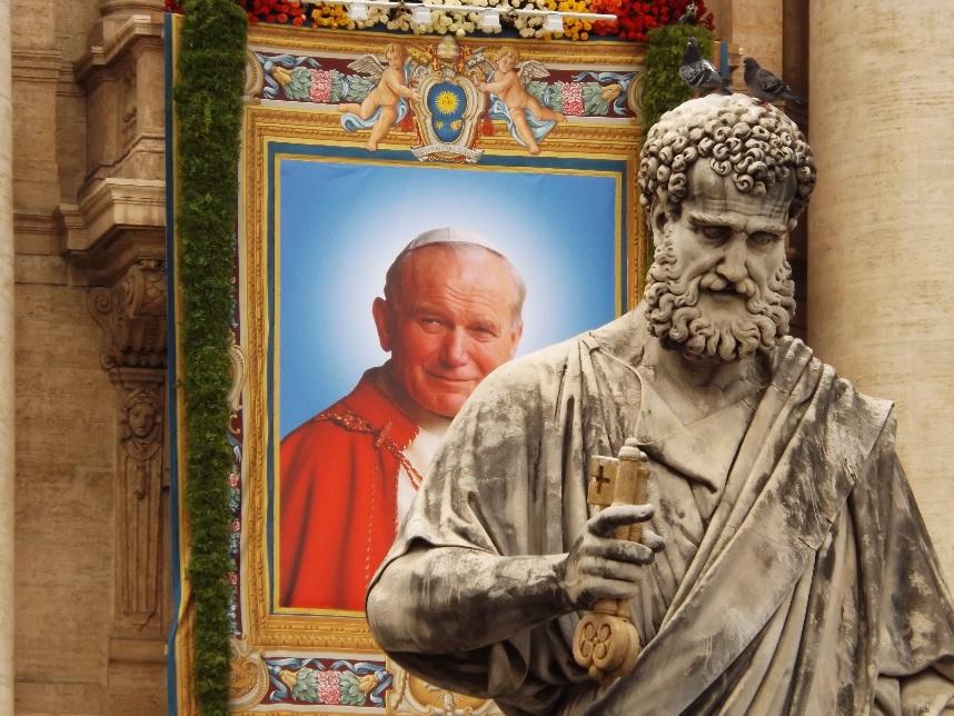 Card. Lucian Mureșan și IPS Ioan Robu: Sfinții Ioan XXIII și Ioan Paul II au schimbat fața Bisericii și a lumii