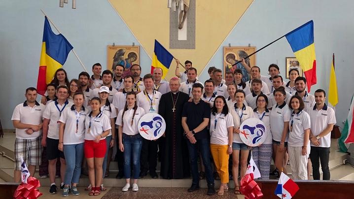 FOTO: Tineri din România la Ziua Mondială a Tineretului din Panama